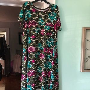 Carly XL LulaRoe Dress